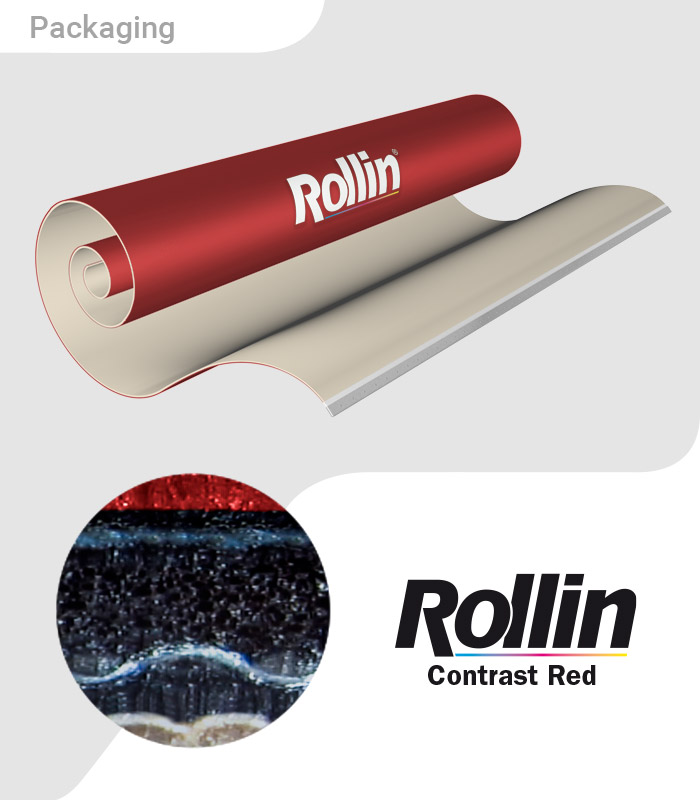 Rollin Contrast Red